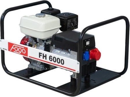 Agregat prądotwórczy FOGO FH 6000 + Olej + Darmowa DOSTAWA